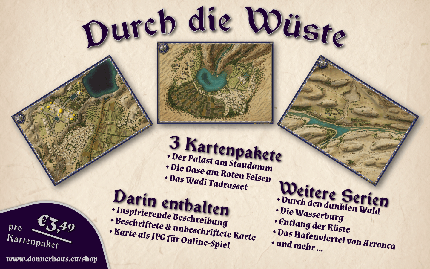 Durch die Wueste Infotafel Rectangle