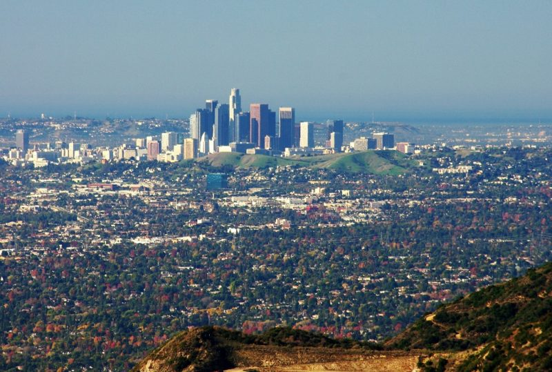 Los Angeles from the Hill